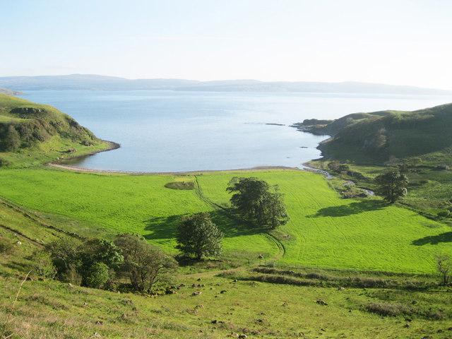The Basin, at Camas nan Geall