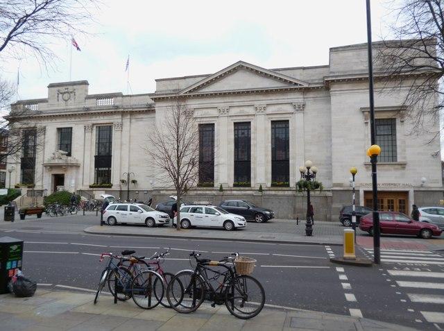 Islington Town Hall, Upper Street N1
