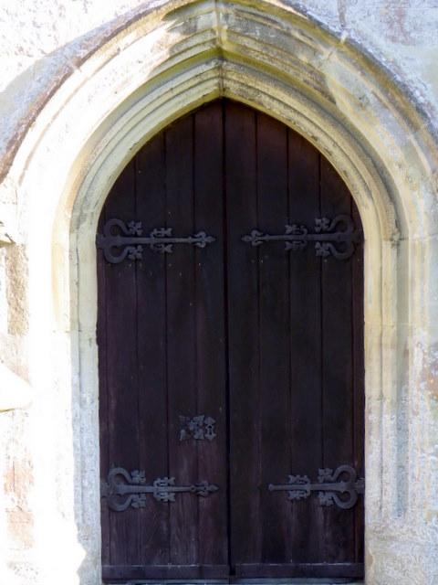 Door, St George's Church
