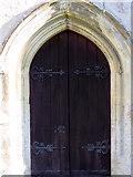 ST9929 : Door, St George's Church by Maigheach-gheal