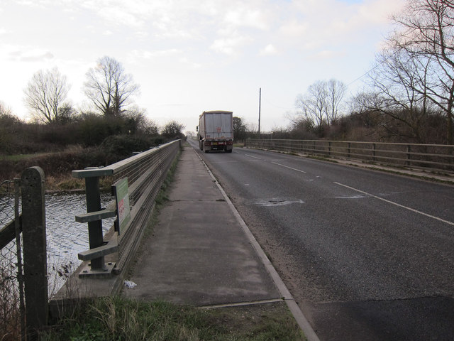 College Road bridge over Cut-off Channel
