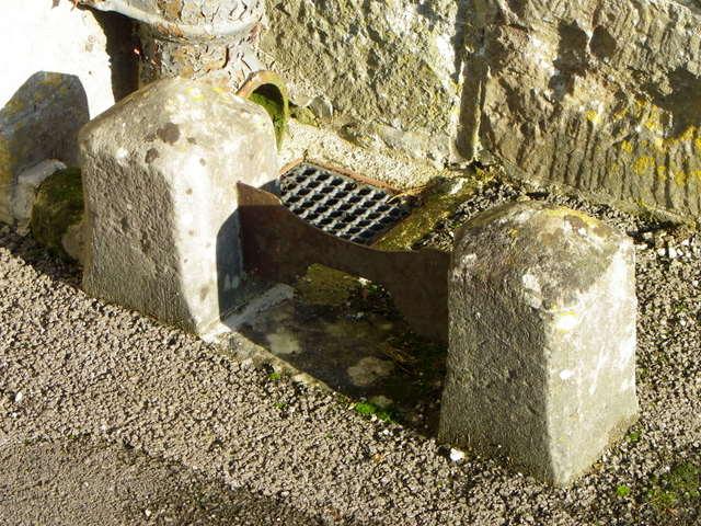 Boot scraper, St George's Church