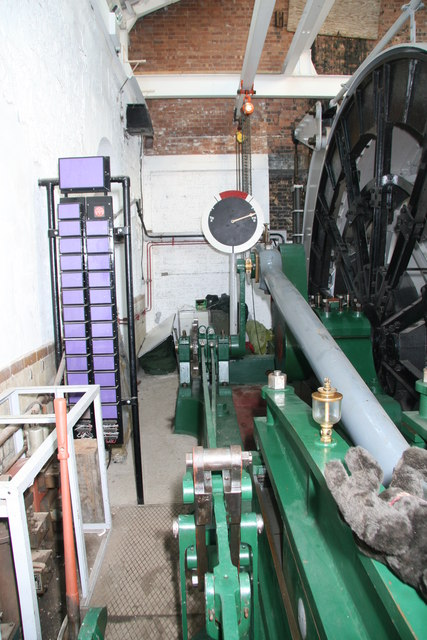 Pleasley Colliery - winding engine