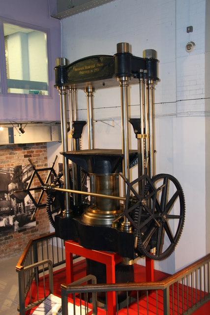 Sheffield Industrial Museum - Bramah press