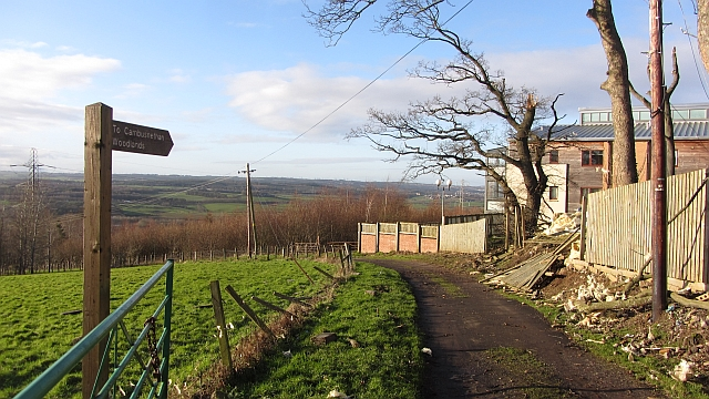 Road to Cambusnethan Wood