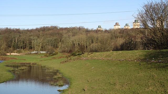 Flood defences, River Clyde