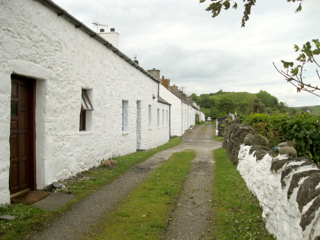 Old cottages at Port Ramsay