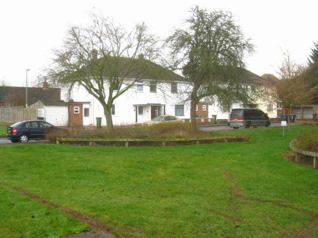 Houses off Kelvin Hill