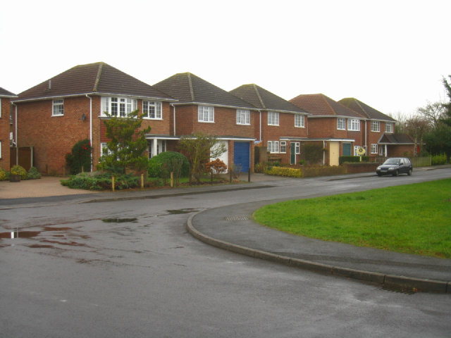 New style houses in Cumberland Avenue