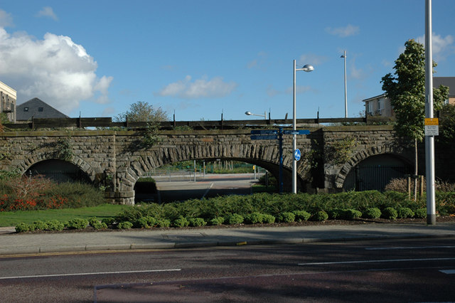 Bridge over Link Canal to Bute Docks