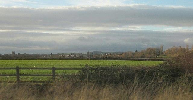 Towards Tewkesbury