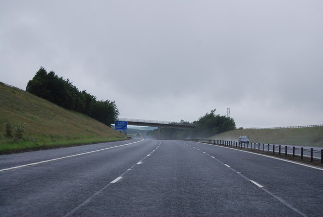 Access Bridge over the A74(M)