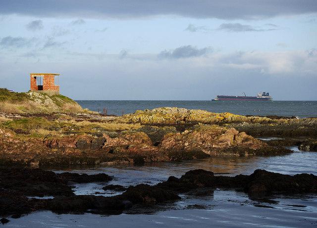 The coastline at Orlock