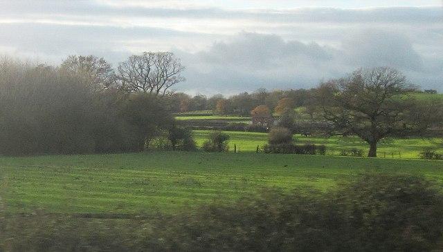 Fields beside the M5