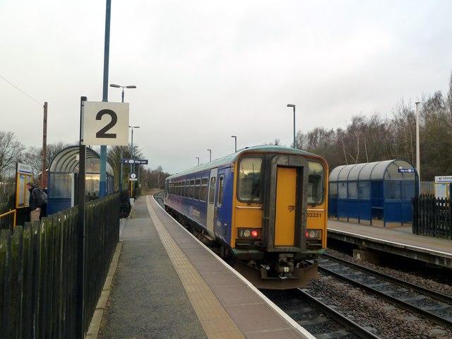 Darton Railway Station