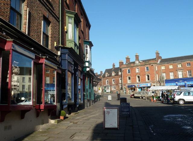 Market Square, Ashbourne