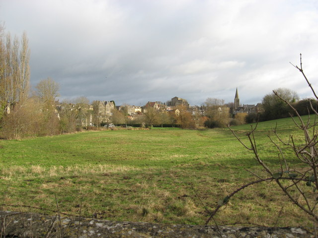 Water meadows in Malmesbury