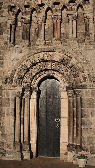 Dalmeny Parish Kirk South Doorway