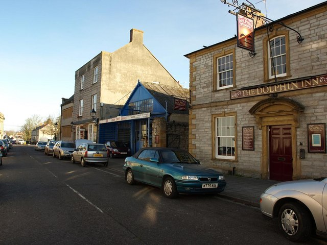 Buildings in High Street, Ilchester
