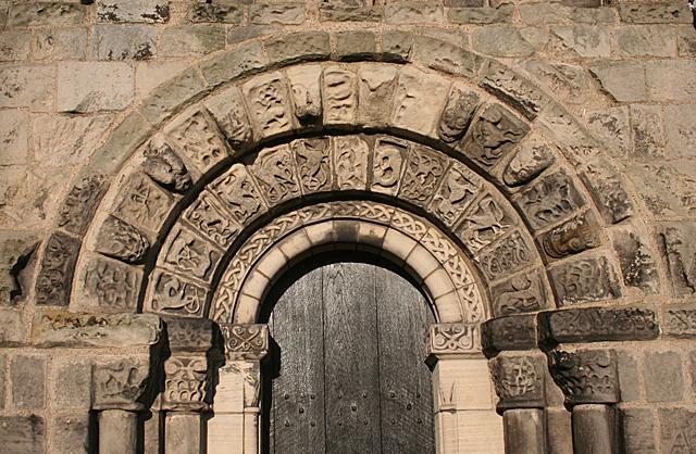 Carved Arch in Dalmeny Kirk