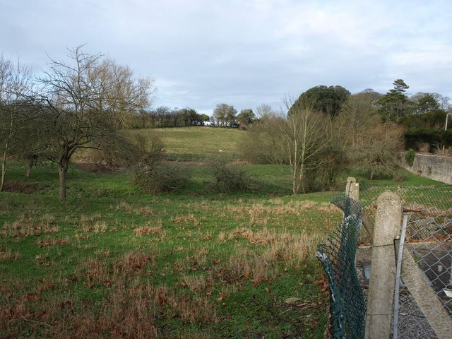 Meadows from Lower Somerton, close to the B3151