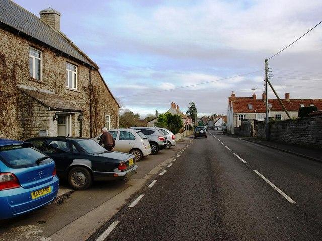 The B3153 through Keinton Mandeville