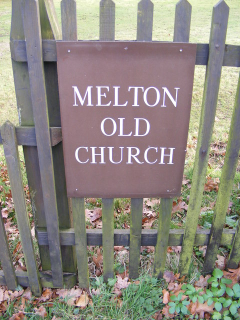 St.Andrew, Melton Old Church sign