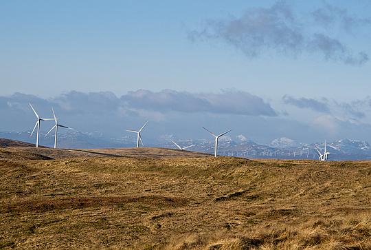 Ochil Hill wind farms - cumulative visual impact