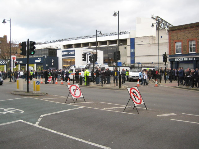 White Hart Lane viewed from High Road