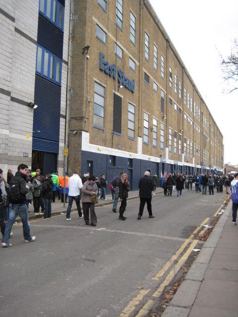 East Stand, White Hart Lane
