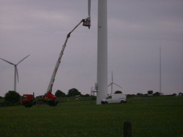 Wind farm at Blaenwaun