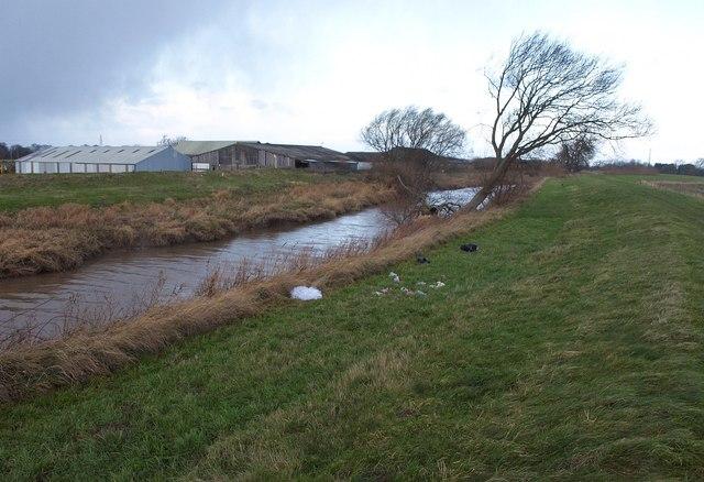 River Hull at Sicey Farm