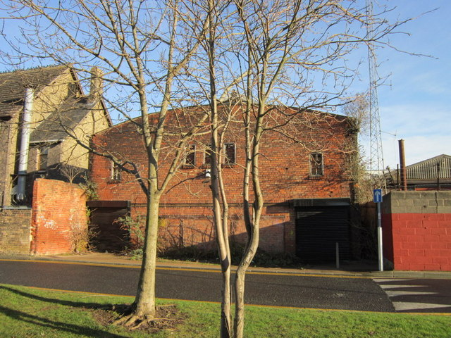 Buildings back onto Grosvenor Street