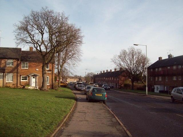 Lowedges Road in Sheffield