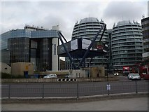 TQ3282 : Old Street roundabout, Old Street EC1 by Robin Sones
