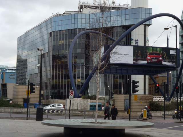 The Old Street Station Roundabout EC1