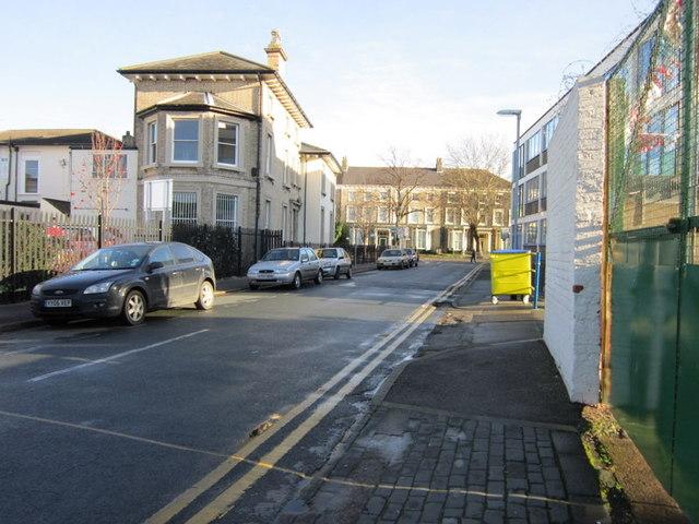 Leonard Street towards Beverley Road, Hull