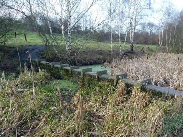 Barrier on the Barnsley Canal near Smithies