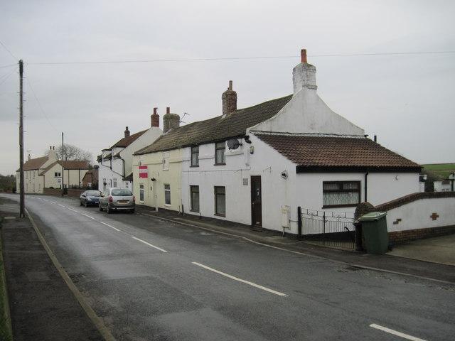 Buckton  village  street