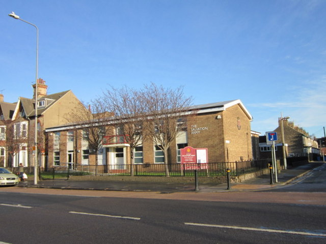 The Salvation Army Citadel on Beverley Road