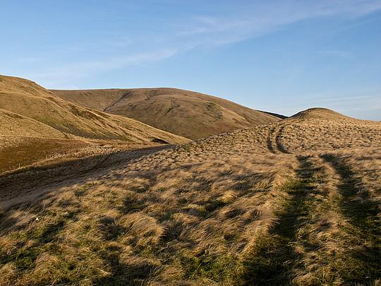 Track near Bank Hill