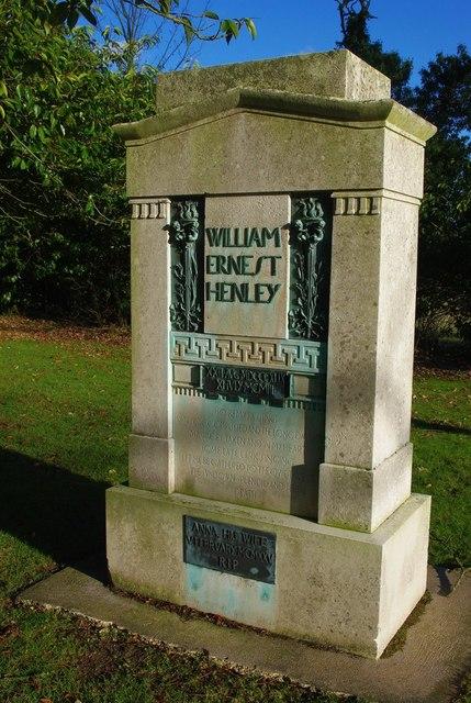 William Ernest Henley memorial
