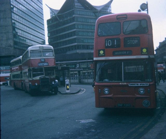 Piccadilly Bus Station Manchester 169 David Hillas