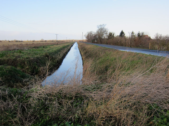 Ditch off College Road