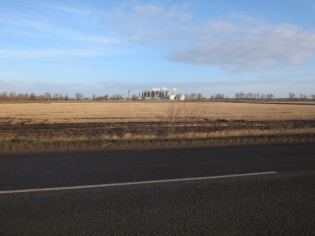 Stubble field by B1160