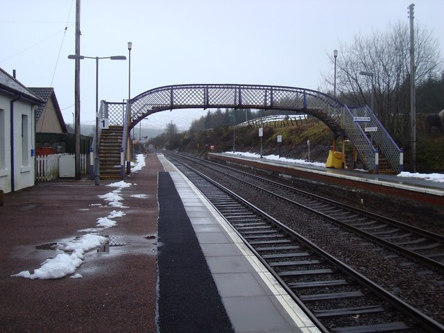 Dalwhinnie Station Looking South