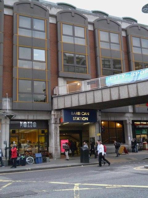 Barbican Underground Station, Aldersgate Street EC1
