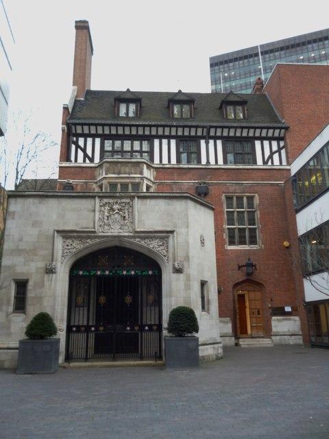 Ironmongers Hall, Aldersgate Street EC2