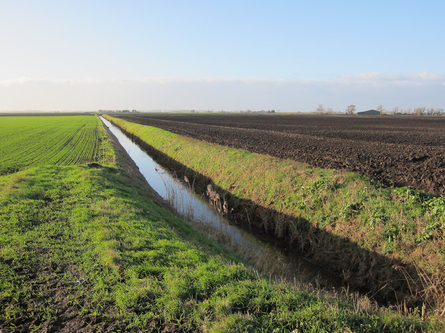 Ditch off Feltwell Road