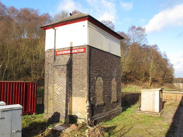 Leekbrook Junction signal box